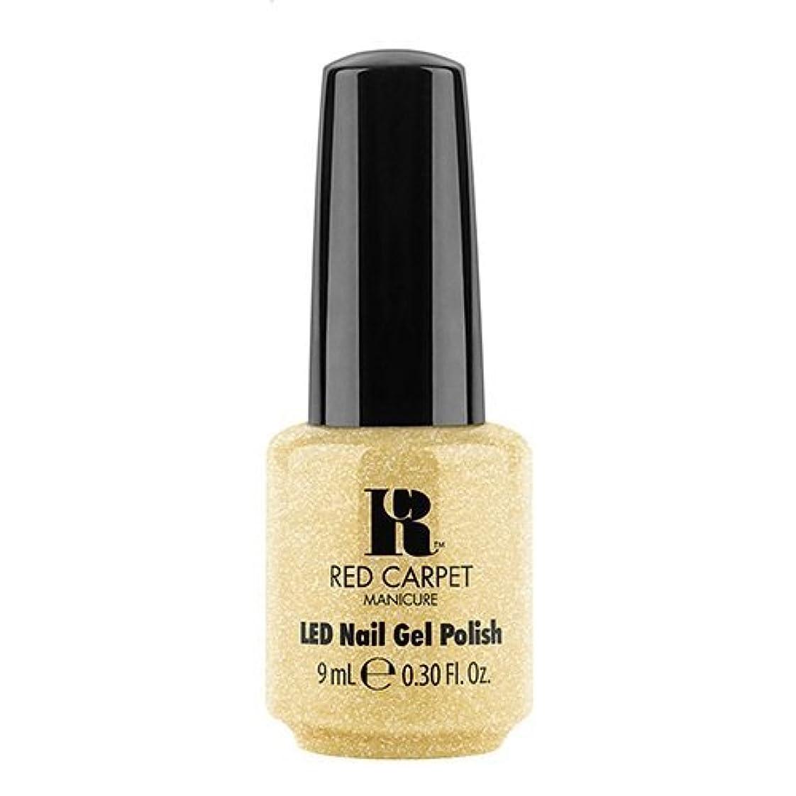 水銀のポルティコチェスRed Carpet Manicure - LED Nail Gel Polish - Nice Nunchucks - 0.3oz / 9ml