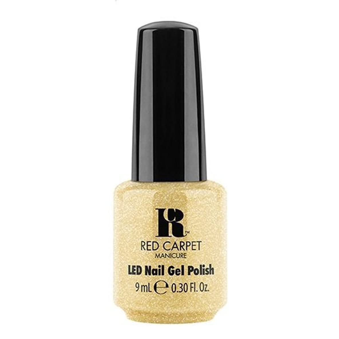 小道汚染する平行Red Carpet Manicure - LED Nail Gel Polish - Nice Nunchucks - 0.3oz / 9ml