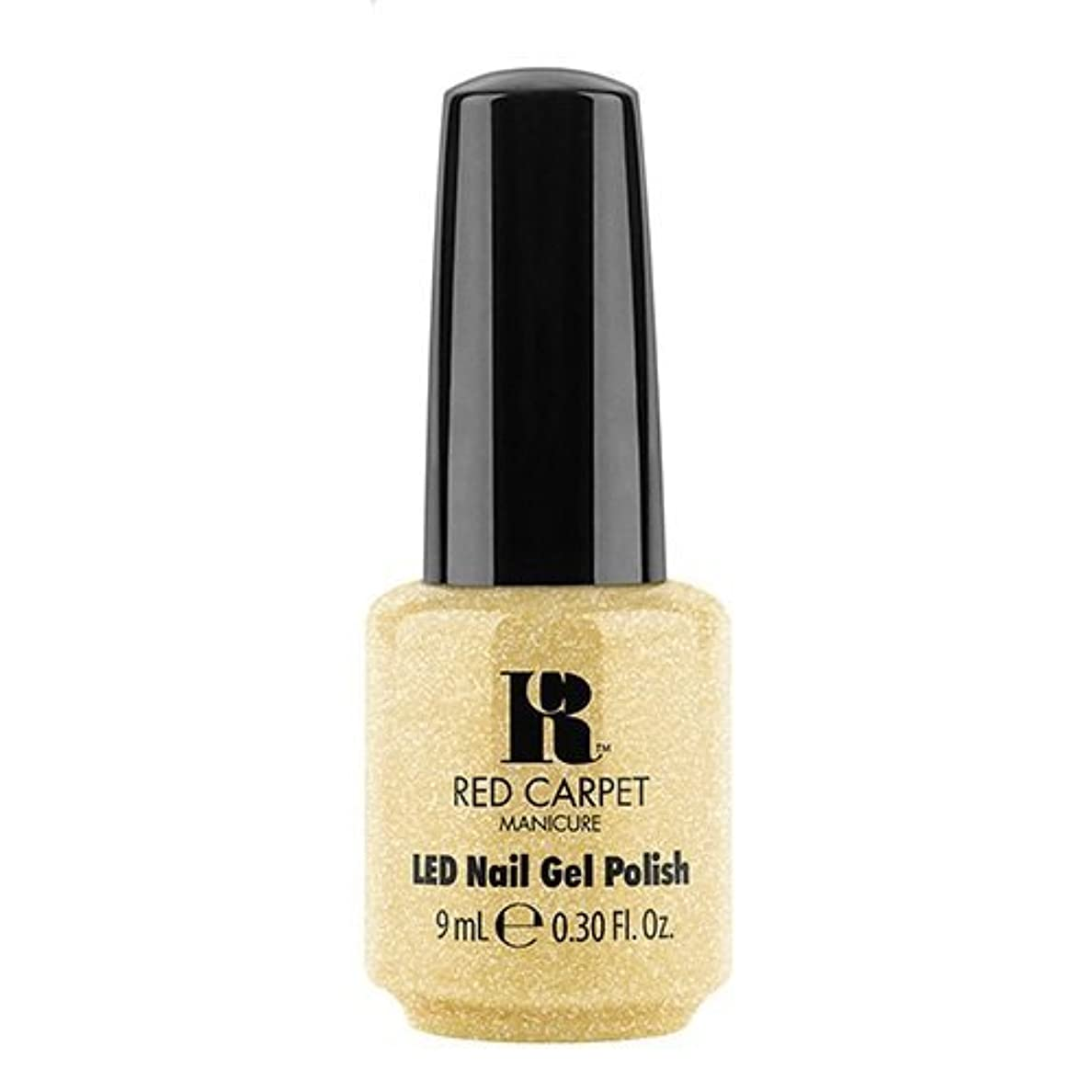 教室十分メイトRed Carpet Manicure - LED Nail Gel Polish - Nice Nunchucks - 0.3oz / 9ml