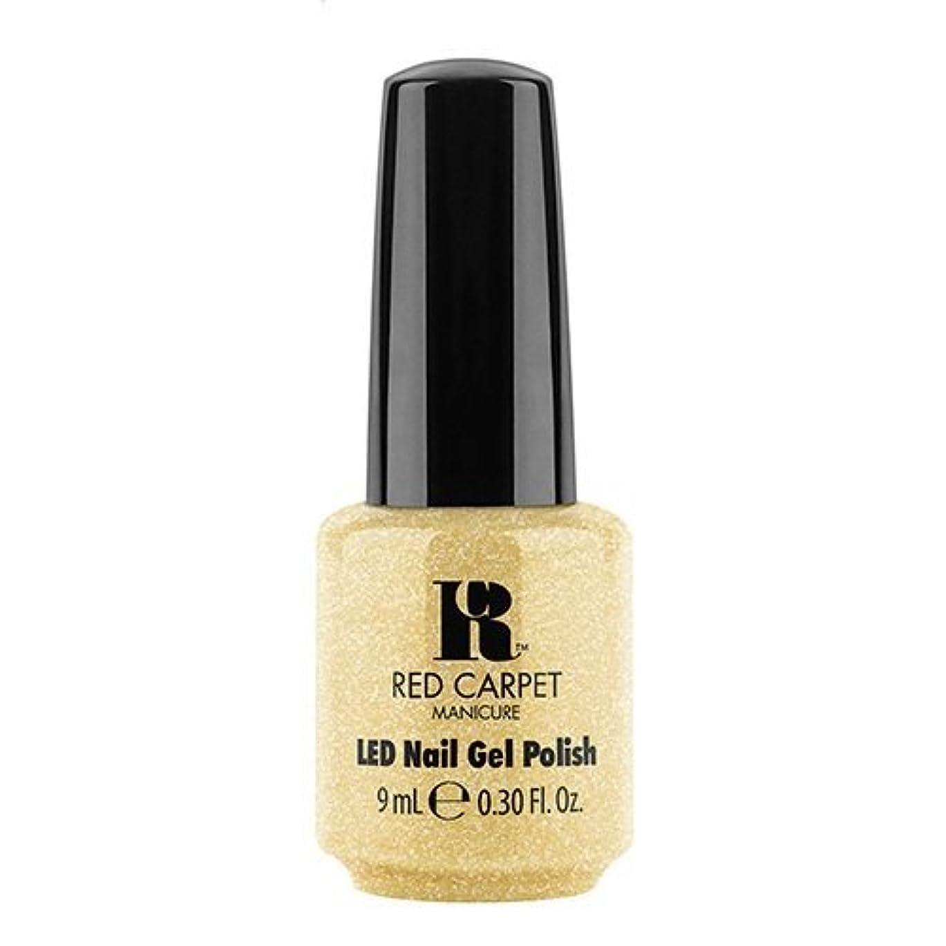 ポスターマウス発音するRed Carpet Manicure - LED Nail Gel Polish - Nice Nunchucks - 0.3oz / 9ml
