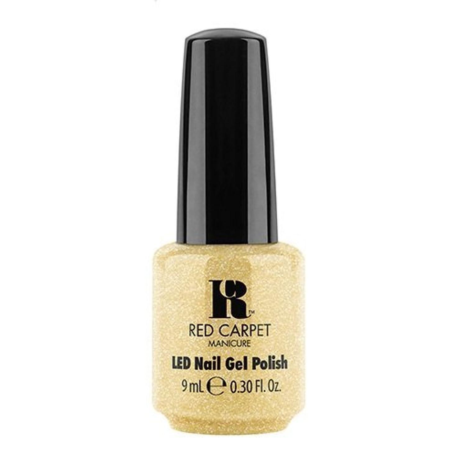 抜け目のない複数バランスのとれたRed Carpet Manicure - LED Nail Gel Polish - Nice Nunchucks - 0.3oz / 9ml