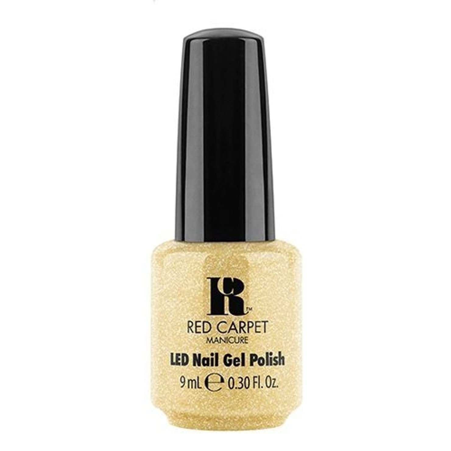 敵有罪プロットRed Carpet Manicure - LED Nail Gel Polish - Nice Nunchucks - 0.3oz / 9ml