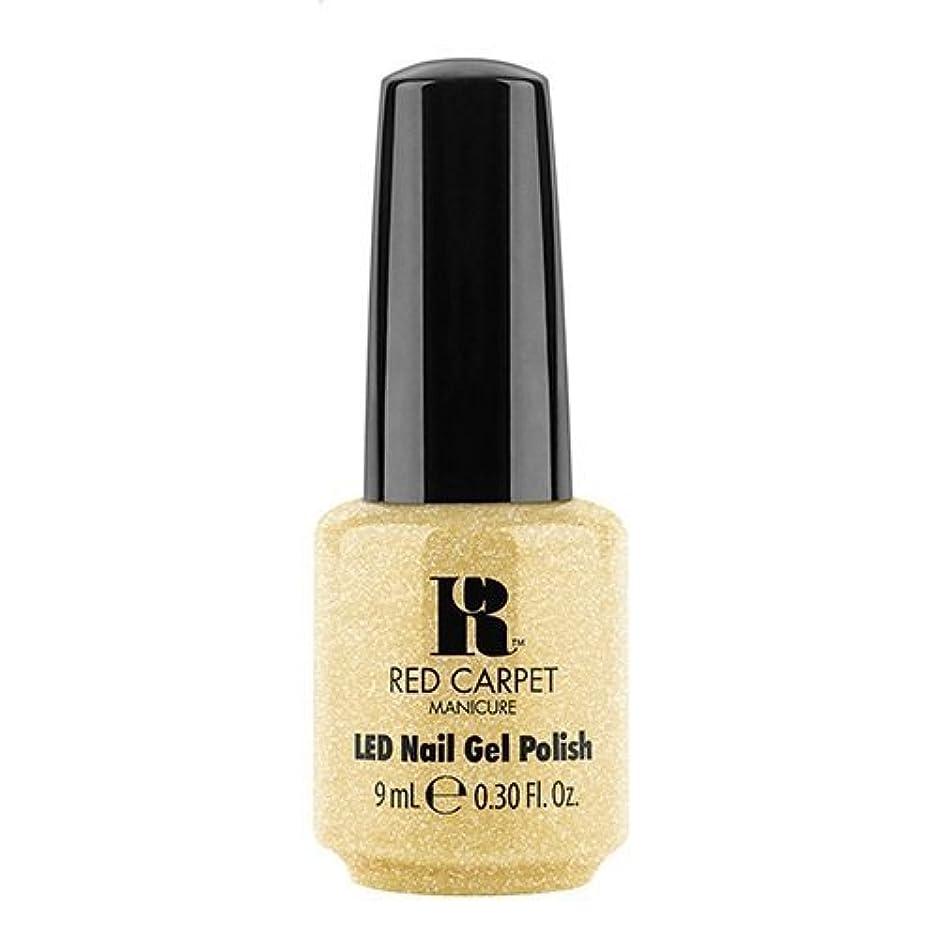 暴徒どちらかだますRed Carpet Manicure - LED Nail Gel Polish - Nice Nunchucks - 0.3oz / 9ml