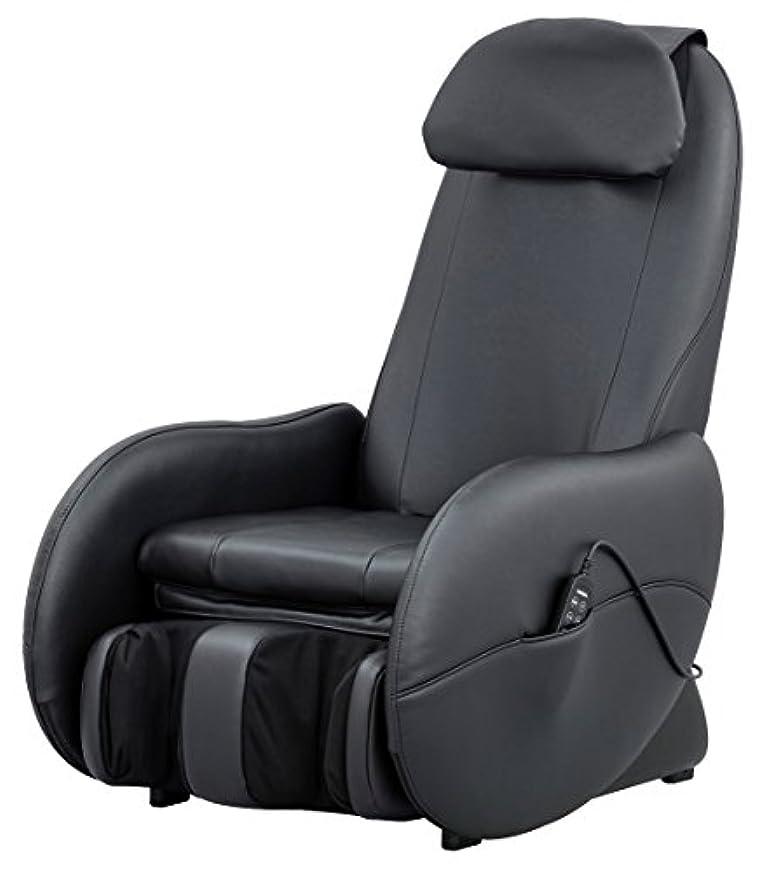 意気消沈した苦しめる聴覚障害者スライヴ マッサージチェア 「もみたたき機能搭載」 ブラック CHD-3500 BK