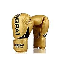 ASHDZ ボクシンググローブアダルトグローブ子供用サンダパンチングバッグボーイファイティングトレーニングジュニアプロファイティングミズムエタイ赤、黒 (Color : A4, Size : 12oz)