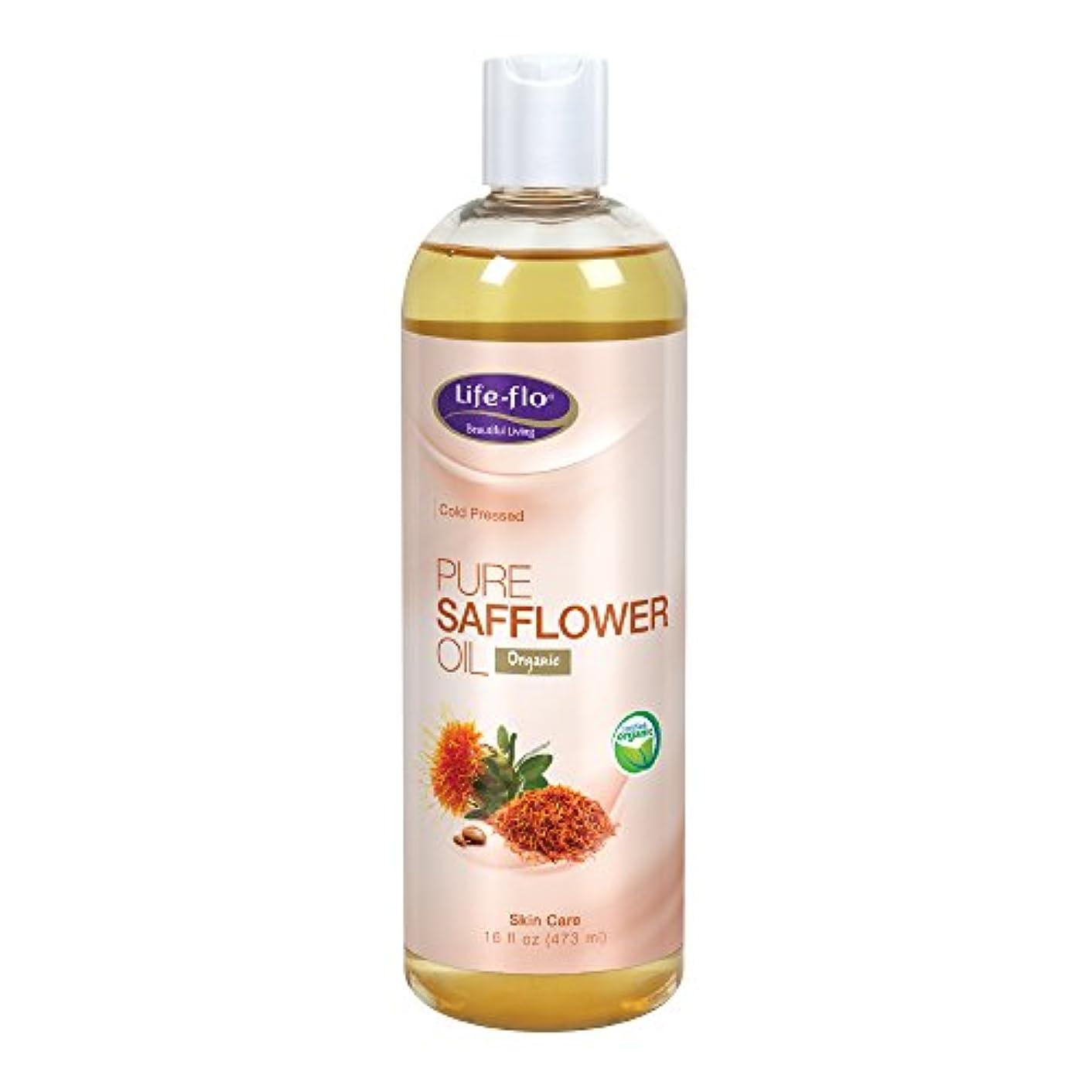 その他間に合わせ分離Life Flo Health, Pure Safflower Oil, Skin Care, 16 fl oz (473 ml)