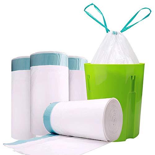 ゴミ袋 レジ袋 防臭袋 収納袋 ホワイト 60×70cm 厚さ0.02mm 開けやすく 取り出 業務用 家庭用 60枚セット (45L)