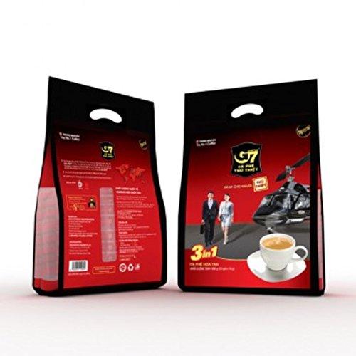 TRUNG NGUYEN チュングエン G7インスタントコーヒー〈Coffeemix3in1〉16g*50袋入り ベトナムコーヒー [並行輸入品]
