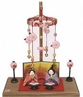 ひなまつり なごみの和雑貨<br>和ごころ ミニ輪飾り お手玉雛セット<br>手作りちりめん細工雛人形