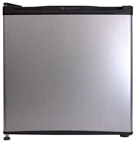 エスキュービズム 1ドア冷蔵庫 WR-1046SL シルバーヘアライン 46L WR-1046SL