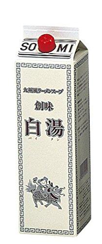 創味 白湯 (パイタン)  九州風ラーメンスープ 1800ml