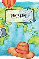 Pakistan: Liniertes Reisetagebuch Notizbuch oder Reise Notizheft liniert - Reisen Journal fuer Maenner und Frauen mit Linien