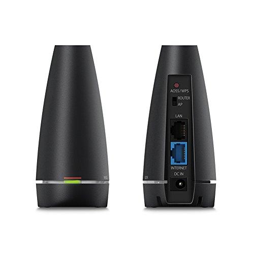BUFFALO  11ac/n/a/g/b 無線LAN親機(Wi-Fiルーター)  ビームフォーミング対応 866+300Mbps 【Nintendo Switch動作確認済】 WCR-1166DS