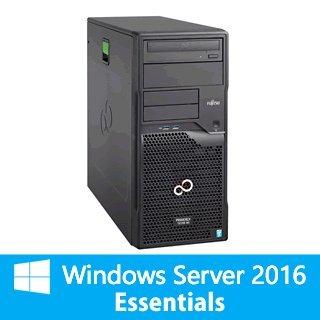 【WinSVR2016Esse】富士通 PCサーバ PRIMERGY TX1310 M1 8GB 4TBx2モデル(E3-1226v3/タワー)