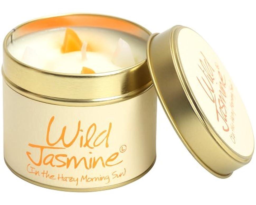 排泄する空白飢Lily Flame キャンドル ワイルドジャスミン