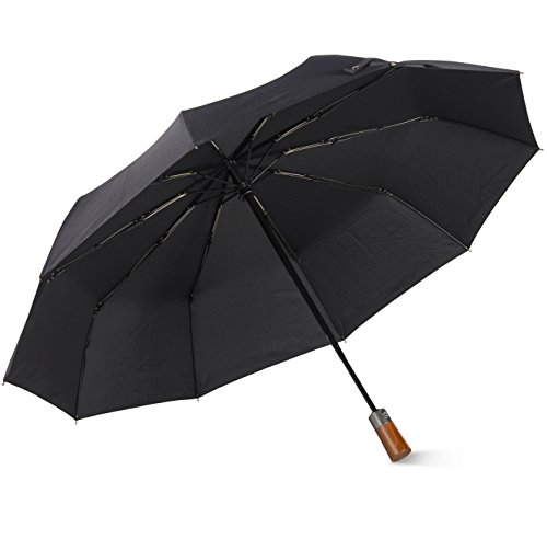 Catalast 自動開閉折り畳み傘 ワンタッチ自動開閉 ジャンプ傘 男女兼用 紳士傘 レディース傘 ビジネス傘 撥水性 軽量 シンプルでスタイリッシュ 丈夫な10本骨 高強度グラスファイバー 2色