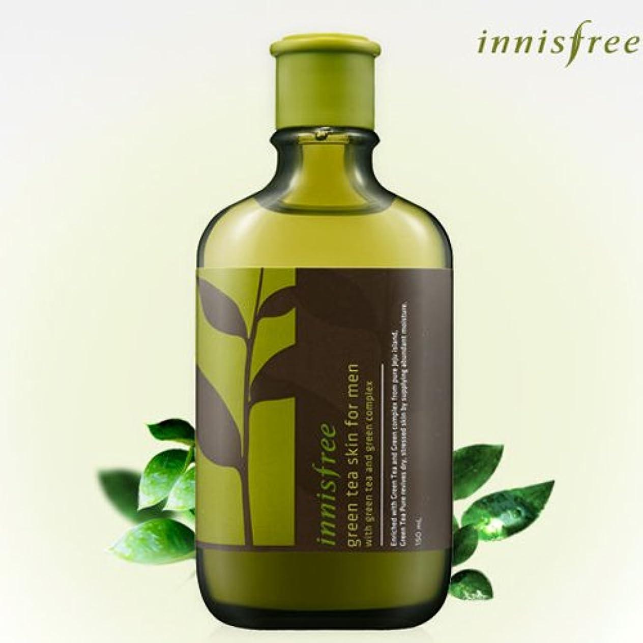 誇張ショップ性格[INNISFREE]イニスフリーグリーンティースキンフォーメン150ml green tea skin FOR MEN 150ml [並行輸入品]