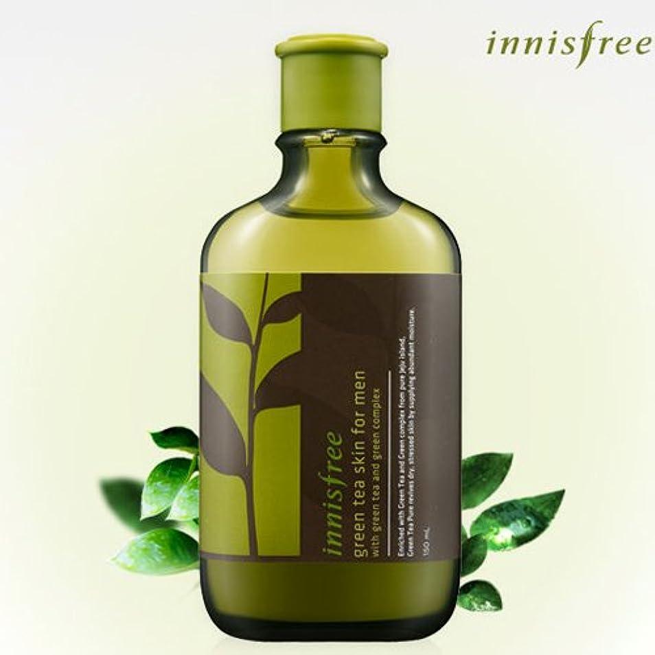 傷つきやすいますます咳[INNISFREE]イニスフリーグリーンティースキンフォーメン150ml green tea skin FOR MEN 150ml [並行輸入品]