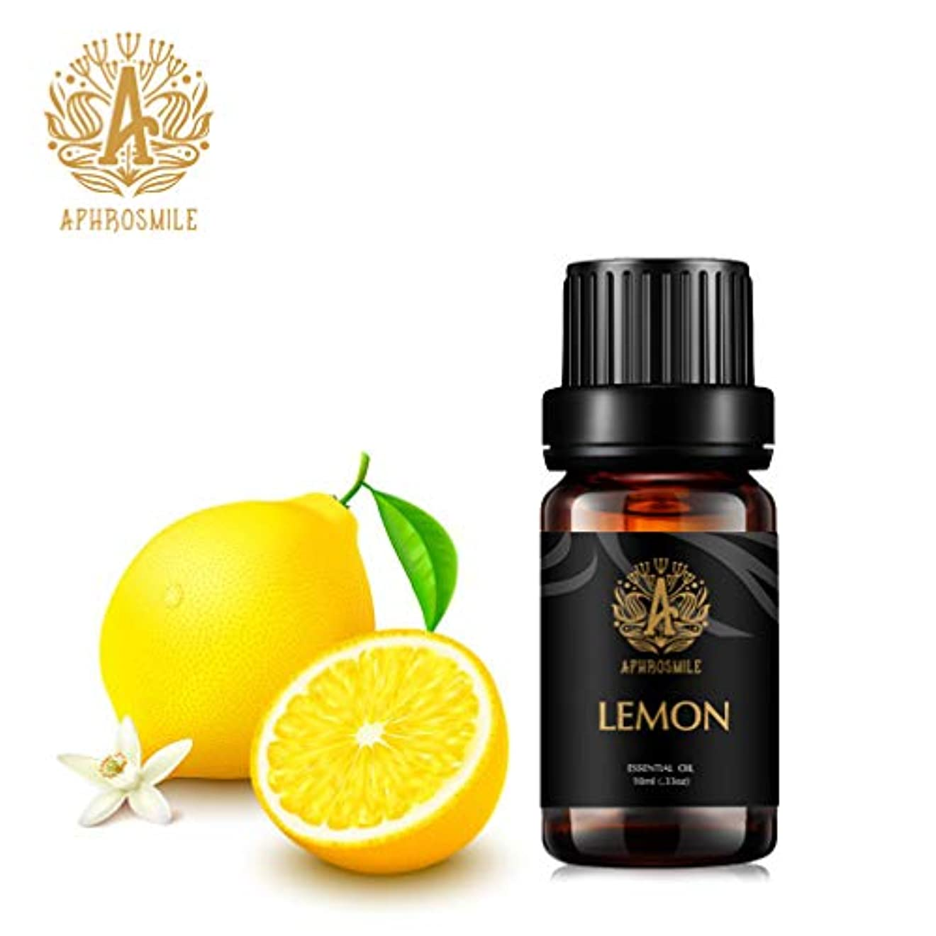 従事したブリークうれしいレモン精油、100%純粋なアロマセラピーエッセンシャルオイルレモンの香り、クレンジングとし、空気を浄化します、治療用グレードエッセンシャルオイルレモンの香り為にディフューザー、マッサージ、加湿器、デイリーケア、0.33オンス...