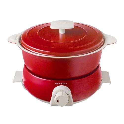 レコルト ポットデュオ フェット [ レッド/RPD-3 ] recolte POT DUO fete 電気鍋 マルチクッカー