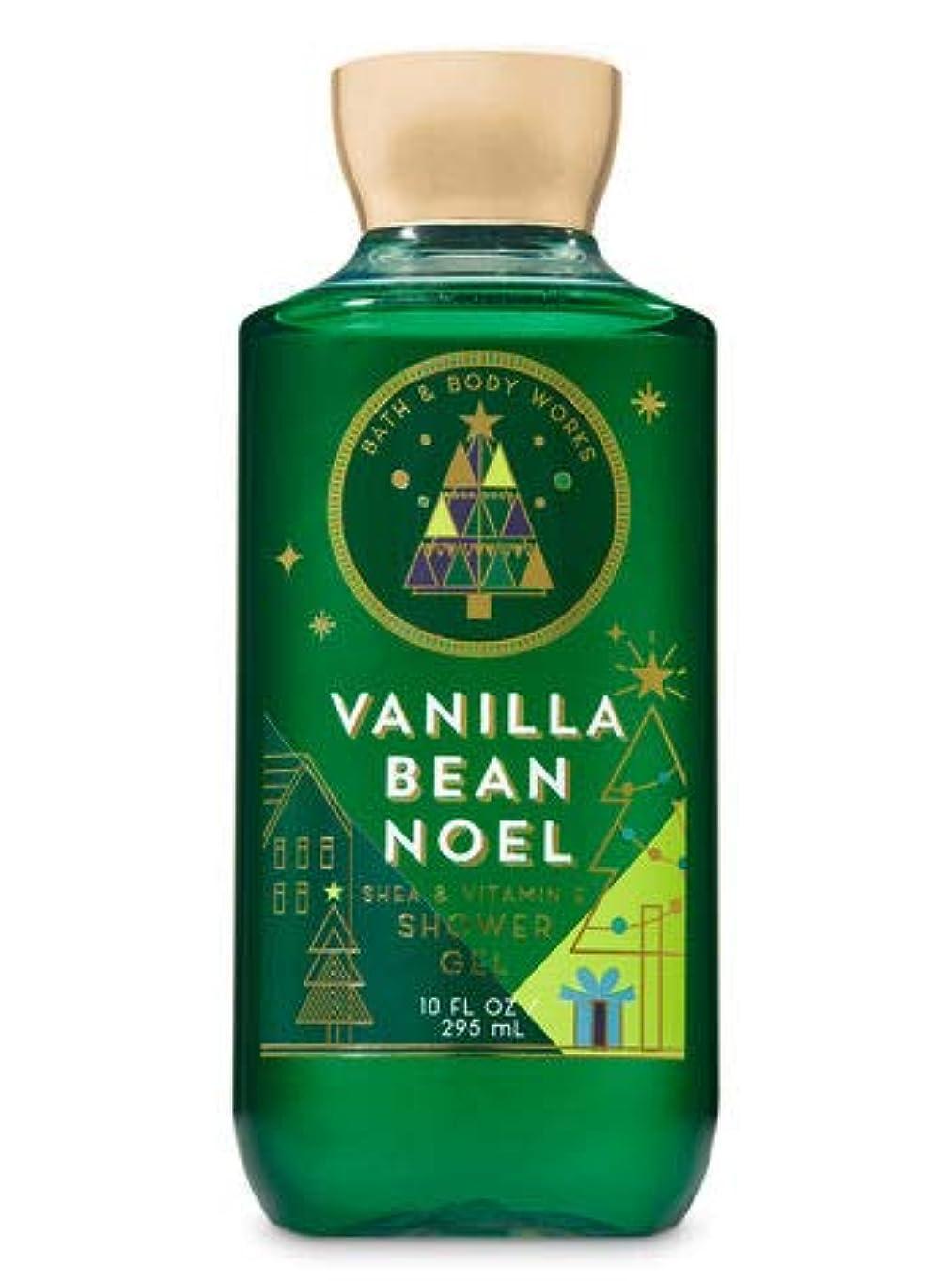 テレビ何故なの抜け目がない【Bath&Body Works/バス&ボディワークス】 シャワージェル バニラビーンノエル Shower Gel Vanilla Bean Noel 10 fl oz / 295 mL [並行輸入品]