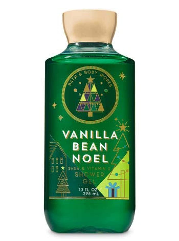 船心配外国人【Bath&Body Works/バス&ボディワークス】 シャワージェル バニラビーンノエル Shower Gel Vanilla Bean Noel 10 fl oz / 295 mL [並行輸入品]