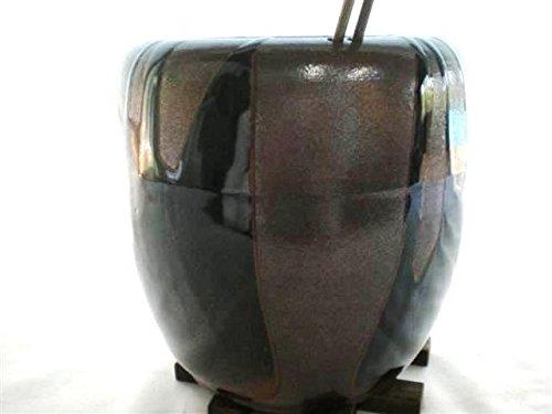 炭天 信楽焼 手炙り火鉢 P7437