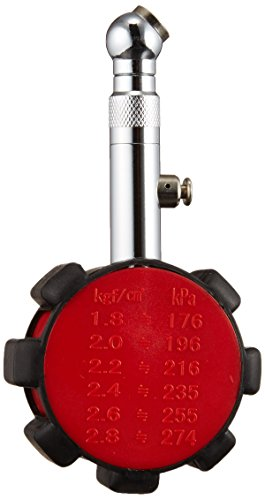 エーモン エアゲージ(ラバープロテクト付) 最大測定値500kPa 6781