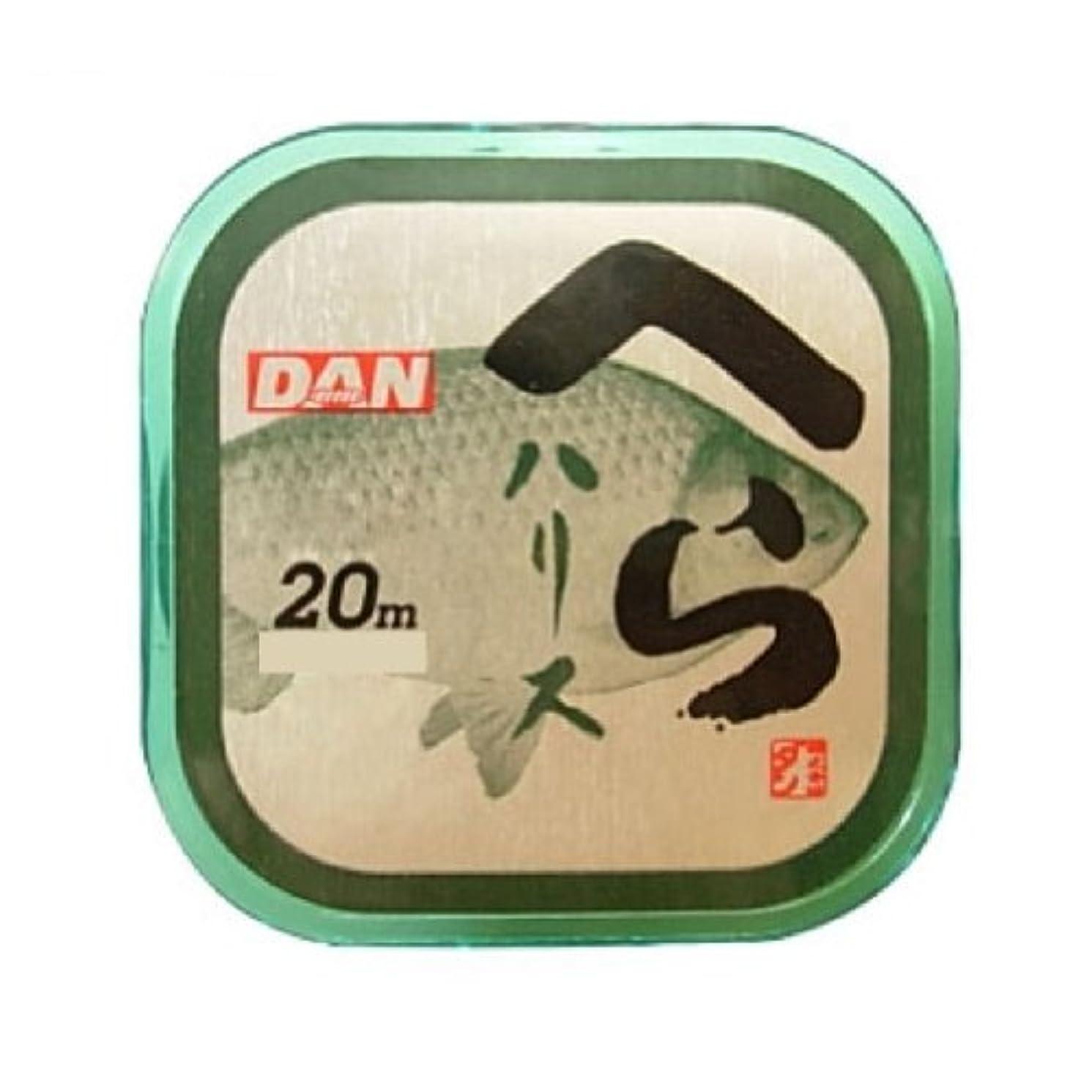 タヒチ変動するプロポーショナルダン(DAN) ライン へらハリス 20m 0.8号