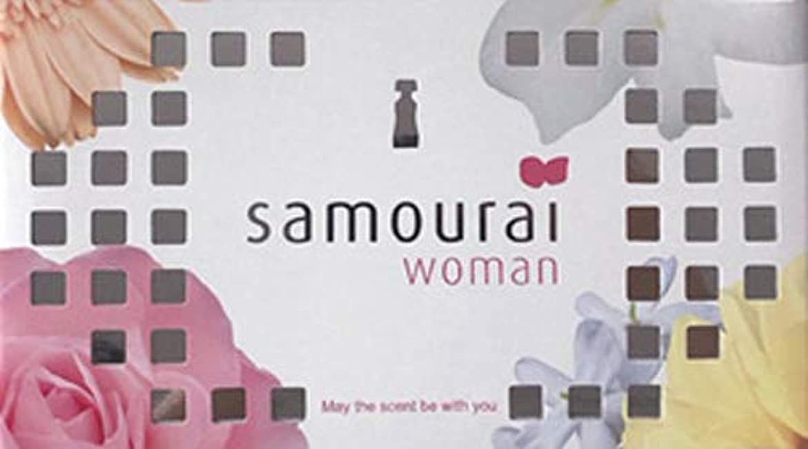 ラショナル複合相反するSamourai woman(サムライウーマン) サムライウーマン フレグランス ボックス サムライウーマンの香り 170g