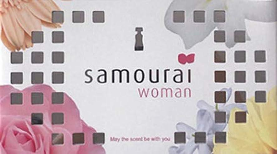抽象化神秘的な赤面Samourai woman(サムライウーマン) サムライウーマン フレグランス ボックス サムライウーマンの香り 170g