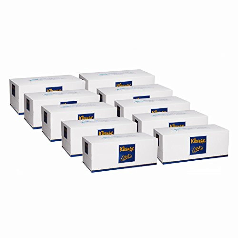 【ケース販売】 クリネックス ティシュー ウルトラ ファミリーサイズ 3枚重ね 420枚(140組) ×10箱入り