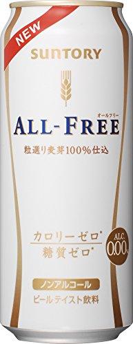 サントリー オールフリー ノンアルコールテイスト飲料 500ml×24本