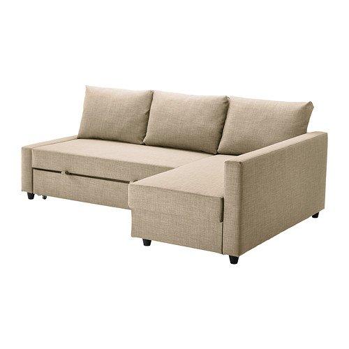 IKEA(イケア) FRIHETEN コーナーソファベッド スキフテボー ベージュ