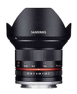 SAMYANG 単焦点広角レンズ 12mm F2.0 ブラック ソニー αE用 APS-C用