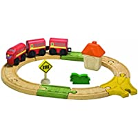 Plan Toys City Road and Rail Oval Railway by PlanToys