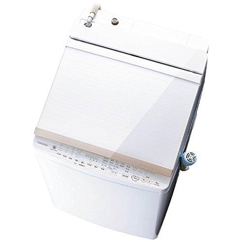 東芝 9.0kg 洗濯乾燥機 グランホワイトTOSHIBA ZABOON AW-9SV6-W