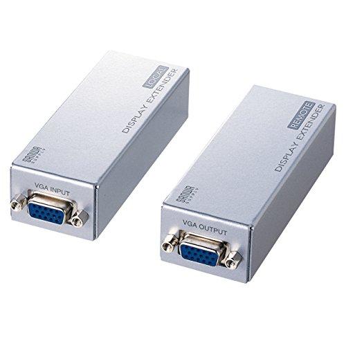 サンワサプライ ディスプレイエクステンダー(セットモデル) VGA-EXSET1