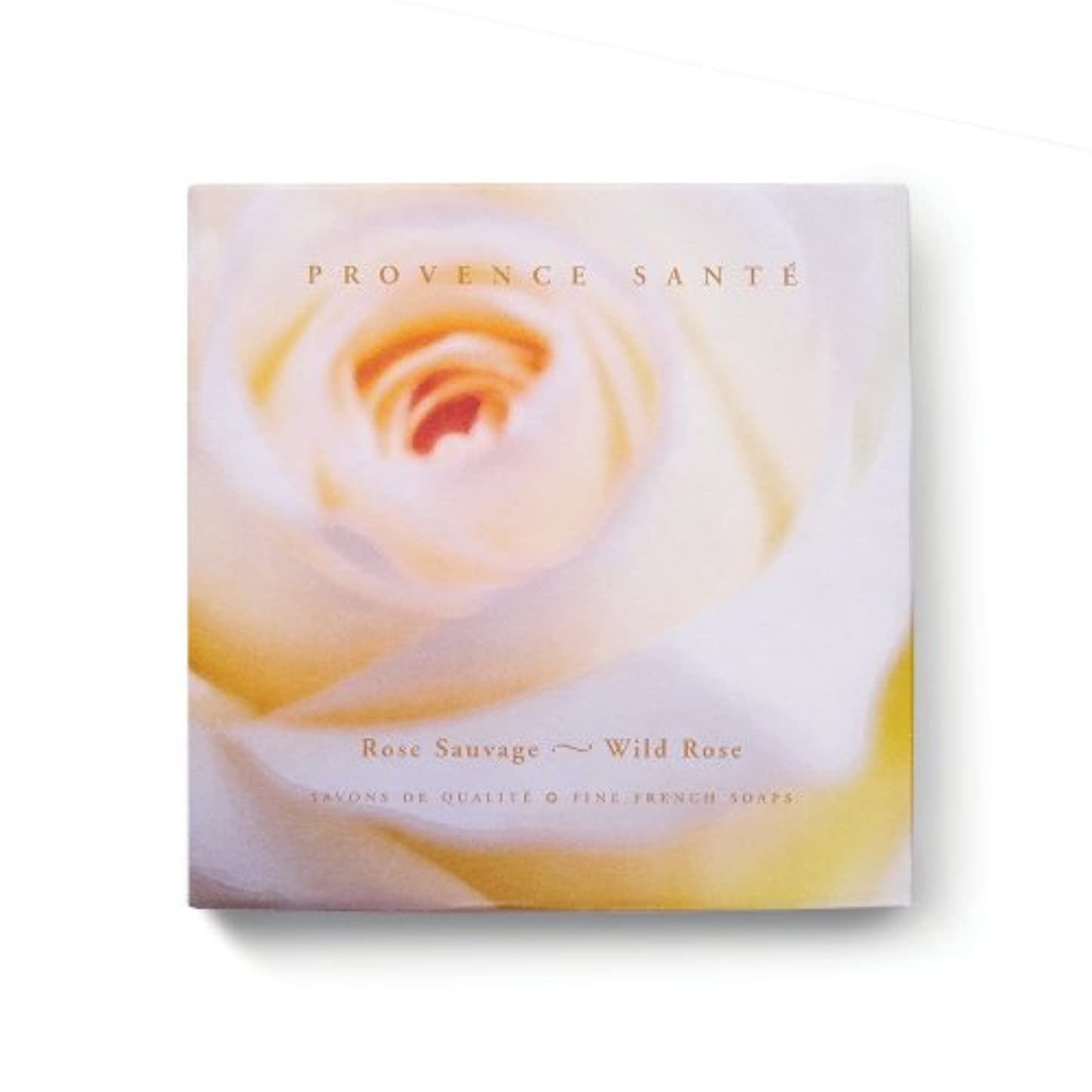 とんでもないある引き付けるProvence Sante PS Gift Soap Wild Rose, 2.7oz 4 Bar Gift Box by Provence Sante [並行輸入品]