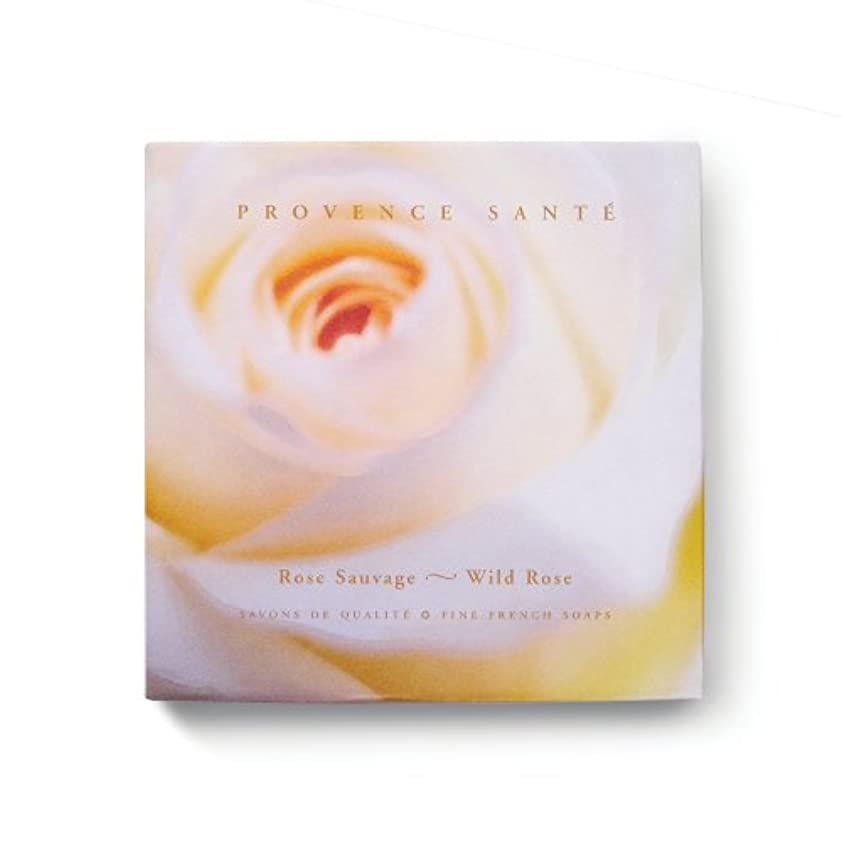 待つ表面アシュリータファーマンProvence Sante PS Gift Soap Wild Rose, 2.7oz 4 Bar Gift Box by Provence Sante [並行輸入品]