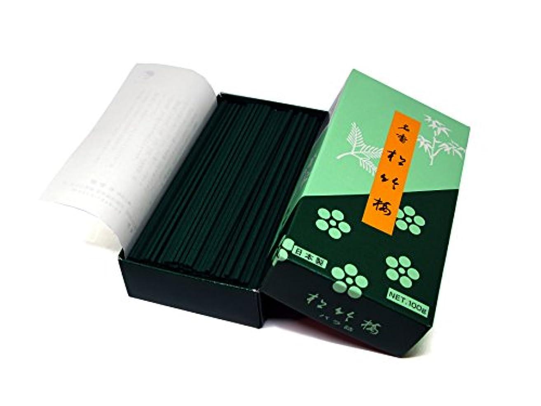 一致する敏感なかわいらしいKoukando Classical Japanese Incense Sticks Shochikubai – Small Pack – 5インチ280 Sticks – 日本製