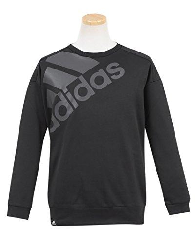 (アディダス)adidas 子供用 トレーナー110cm ブラック
