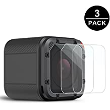Awinner Glass for GoPro Hero4 Session Hero5 Session Screen Protector Ultra-Clear Tempered-Glass for Hero 4 Session Hero 5 Session Action Camera(3-Pack)