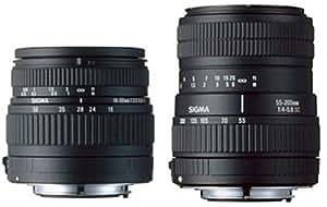 SIGMA 18-50DC+55-200DC SET FT デジタル一眼レフカメラ専用レンズ フォーサーズマウント