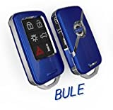 Dsquared Volvo キーケース 青  XC60/S80/S60/V60/V40/高級キーケース