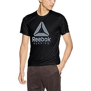 (リーボック)Reebok ランニングウェア グラフィック Tシャツ DJY57 [メンズ] DJY57 BQ7458 ブラック J/L