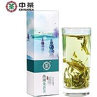 中茶の緑茶の2018年西湖の竜井の茶のカセットは茶100 g中の食糧製品の中華の老舗の番号を散らします 中茶 绿茶 2018年西湖龙井茶叶盒装散茶100g 中粮出品 中华老字号