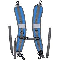 Eboxer バックパックベルト 落ち防止  肩紐固定  バックル式 調整可能 大人子供適用 3つの色を選ぶことができる 防水 保護 2本セット