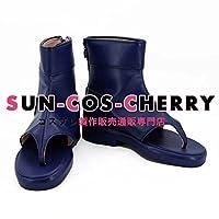 【サイズ選択可】コスプレ靴 ブーツ K-2041 NARUTO ナルト 綱手 ツナデ 男性25.5CM