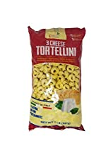 Food with Purpose 3 Cheese Tortellini All Natural 15 Servings From Italy 2 LB [並行輸入品]